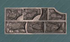 """форма для панно """"Окантовка Льва"""" (под камень Неаполь) купить,полиуретановая форма для панно """"Окантовка Льва"""" (под камень Неаполь) купить,форма для панно из гипса """"Окантовка Льва"""" (под камень Неаполь) купить,форма для изготовления панно """"Окантовка Льва"""" (под камень Неаполь) купить,гибкая форма """"Окантовка Льва"""" (под камень Неаполь) купить"""