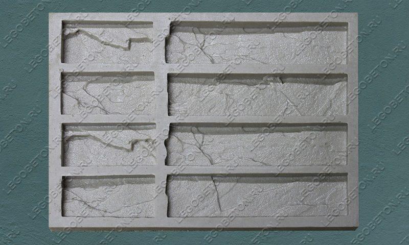 Форма для плитки под кирпич «Колотый» (угол) LB203-00