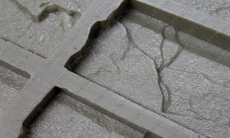 Форма для плитки под декоративный камень «Скальник (угол)» LB203-01