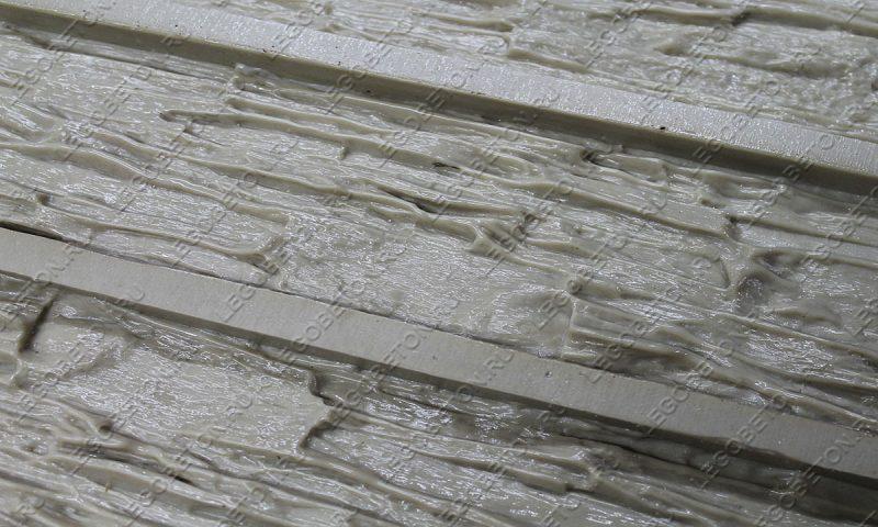 Форма для плитки под искусственный камень «Мелкий сланец -1» LB210-03