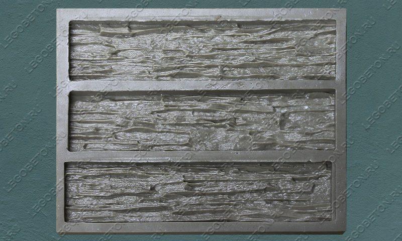 Форма для плитки под искусственный камень «Мелкий сланец -2» LB211-01