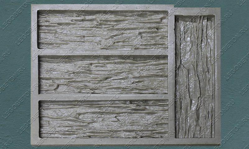 Форма для плитки под искусственный камень «Мелкий сланец -3» LB212