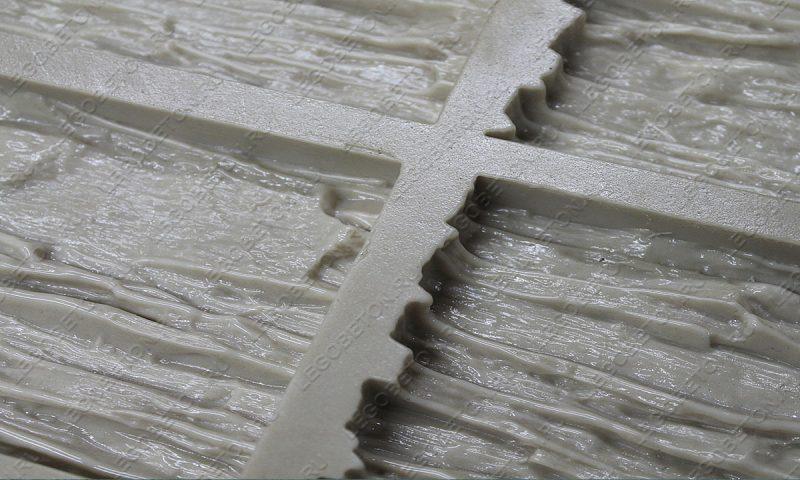 Форма для плитки под искусственный камень «Мелкий сланец (угол)» LB213-02