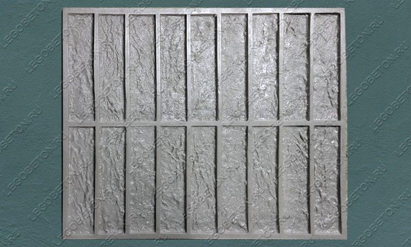 Форма для плитки под кирпич «Классический руст» LB234-02