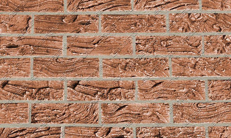 Форма для плитки под кирпич «Древесная кора» (большая) LB260-01