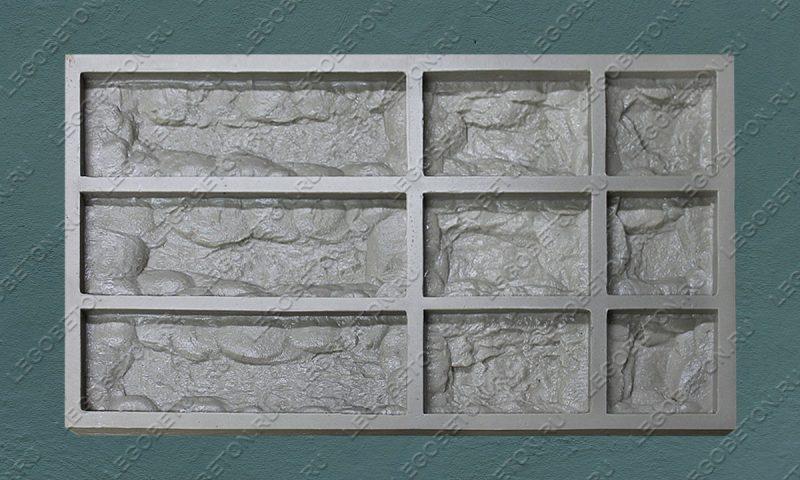 Форма для плитки под декоративный камень «Неаполь» LB270-02