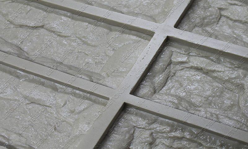 Форма для плитки под декоративный камень «Неаполь» LB270-03