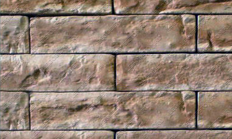 Форма для плитки под кирпич «Римский» LB290-01