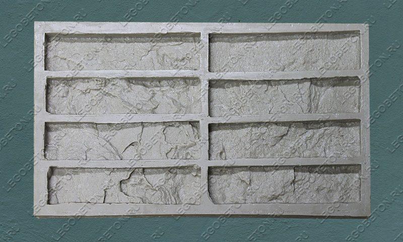 Форма для плитки под кирпич «Старая Прага» LB300-02