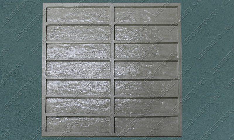 Форма для плитки под кирпич «Клинкер гладкий» LB324-02