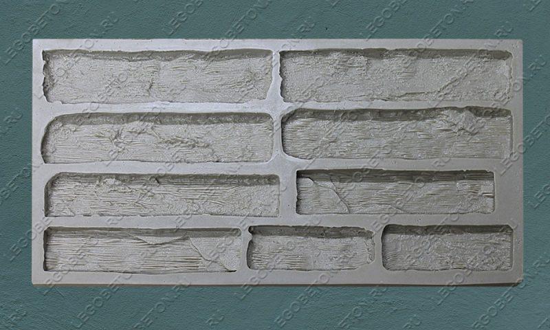 Форма для плитки под кирпич «Сантьяго» LB340-02