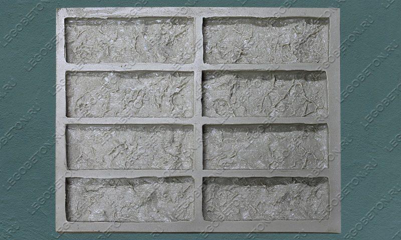 Форма для плитки под кирпич «Вавилон» LB350-02