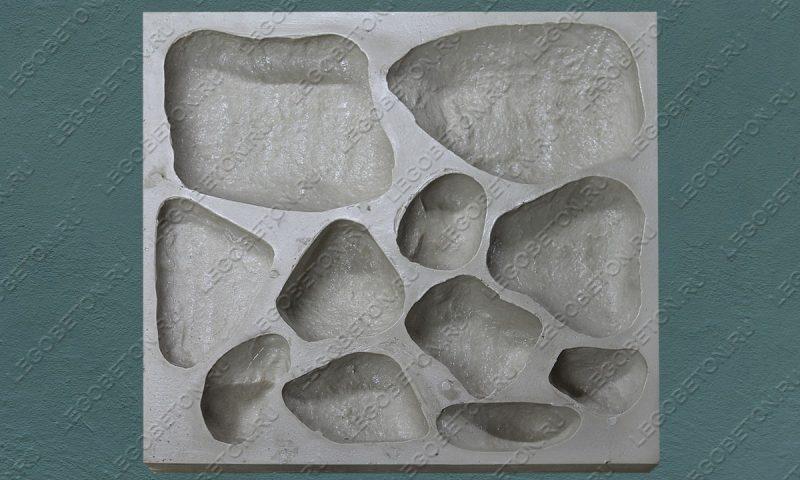 Форма для декоративного камня «Речной камень» LB510-02