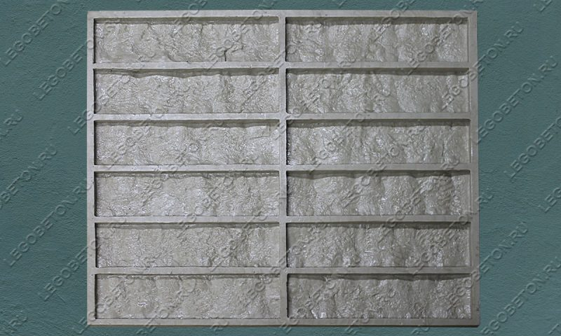 Форма для плитки под кирпич «Аврора» LB540-02