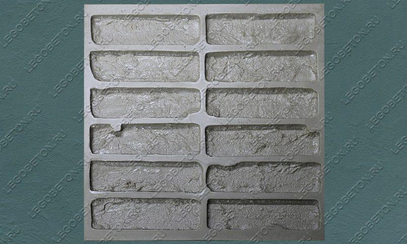 Форма для плитки под кирпич «Манхэттен» (полный-1) LB550-02