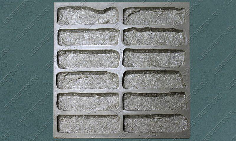Форма для плитки под кирпич «Манхэттен» (полный-2) LB551