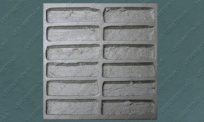 Форма для плитки под кирпич «Манхэттен» (полный-3) LB552