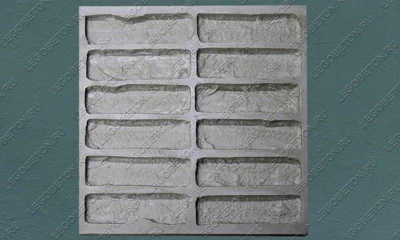 Форма для плитки под кирпич «Манхэттен» (полный-5) LB554
