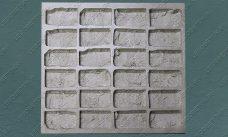 """форма для плитки под кирпич """"Манхэттен"""" (половинка) купить,полиуретановая форма для плитки под кирпич """"Манхэттен"""" (половинка) купить,форма для плитки под кирпич из гипса """"Манхэттен"""" (половинка) купить,форма для изготовления плитки под кирпич """"Манхэттен"""" (половинка) купить,гибкая форма """"Манхэттен"""" (половинка) купить"""