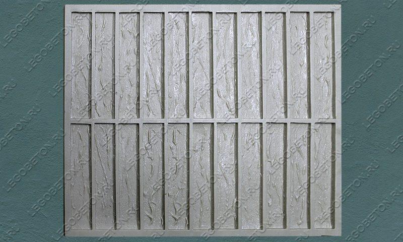 Форма для плитки под кирпич «Немецкий клинкер» (большая) LB560-02