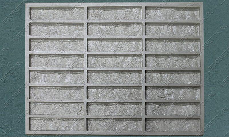 Форма для плитки под кирпич «Венский клинкер» (большая) LB570-02