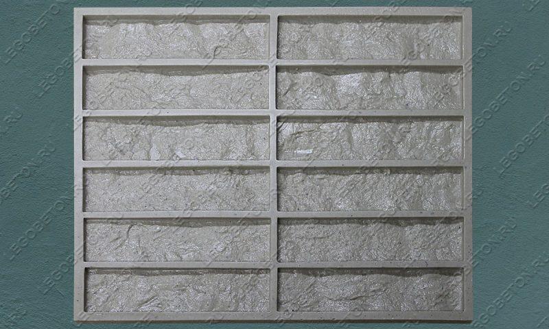 Форма для плитки под кирпич «Венский клинкер» (малая-1) LB571-01