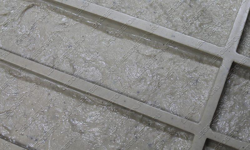 Форма для плитки под кирпич «Венский клинкер» (малая-1) LB571-02