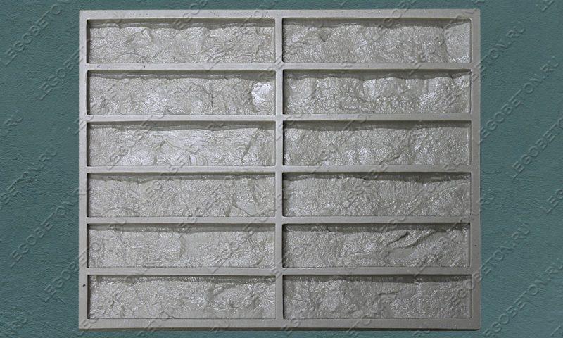 Форма для плитки под кирпич «Венский клинкер» (малая-2) LB572-01