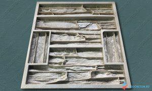 форма для изготовления камня Танвальд-1 купить в москве
