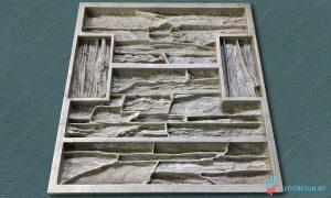 форма для изготовления камня Танвальд-3 купить в москве
