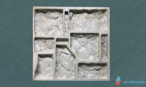 полиуретановая форма для камня Утес-1 купить в москве