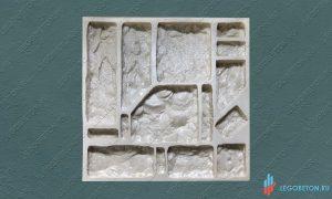 полиуретановая форма для камня Утес-2 купить в москве