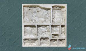 полиуретановая форма для камня Утес-3 купить в москве
