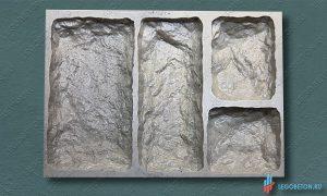 резиновая форма для изготовления искусственного камня Бут-1 купить в москве