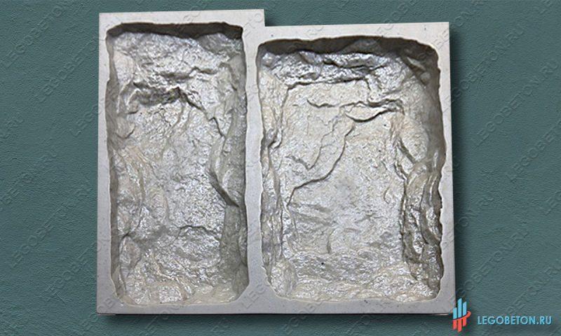 полиуретановая форма для изготовления искусственного камня Бут-2