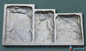 гибкая форма для изготовления искусственного камня Бут-3 купить в москве