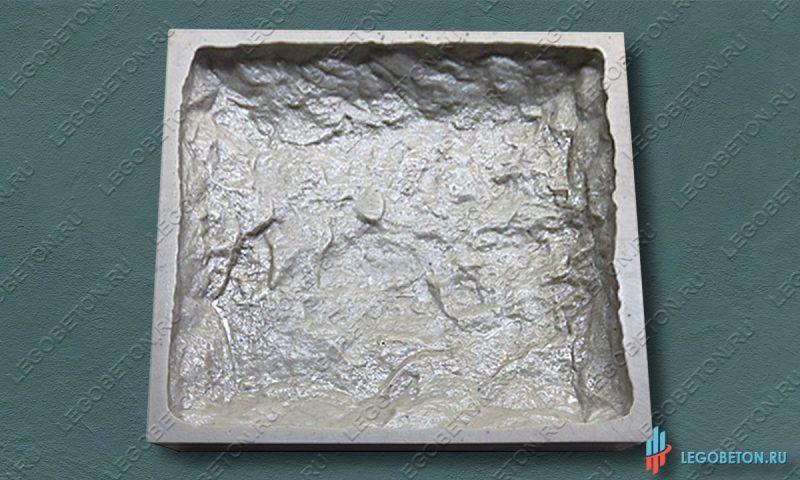 резиновая форма для изготовления искусственного камня Бут-4