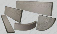 форма для радиусной ступени купить, форма для радиусной проступи, форма для радиусного подступенка