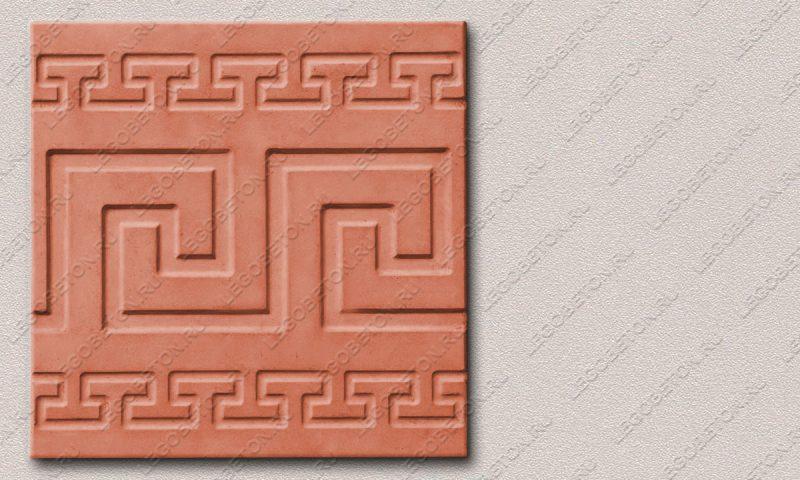 Форма «Квадрат «Греческая линия»» FR117.1-2