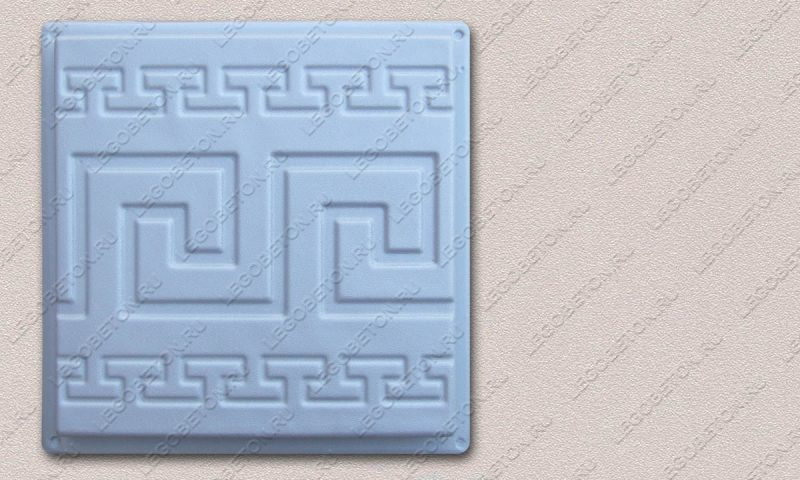 Форма «Квадрат «Греческая линия»» FR117.1-4