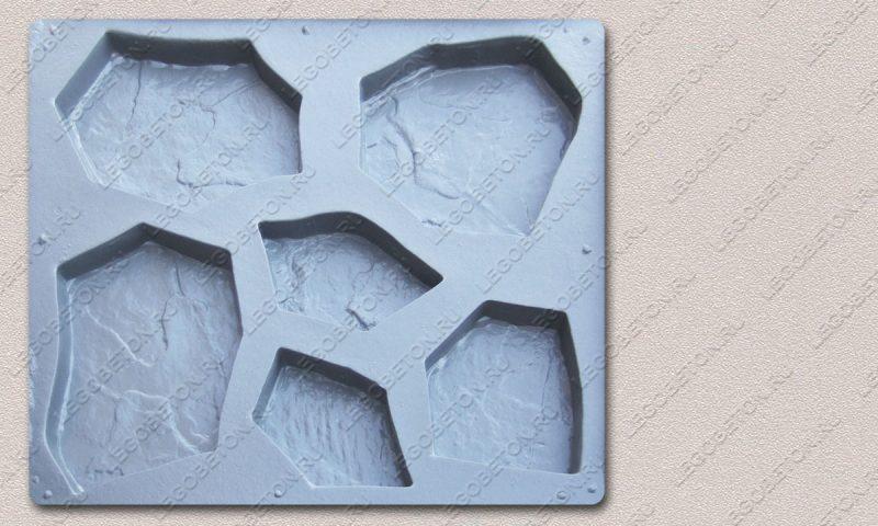 Форма «Комплект камней «Каменная роза»» FR119.1-1