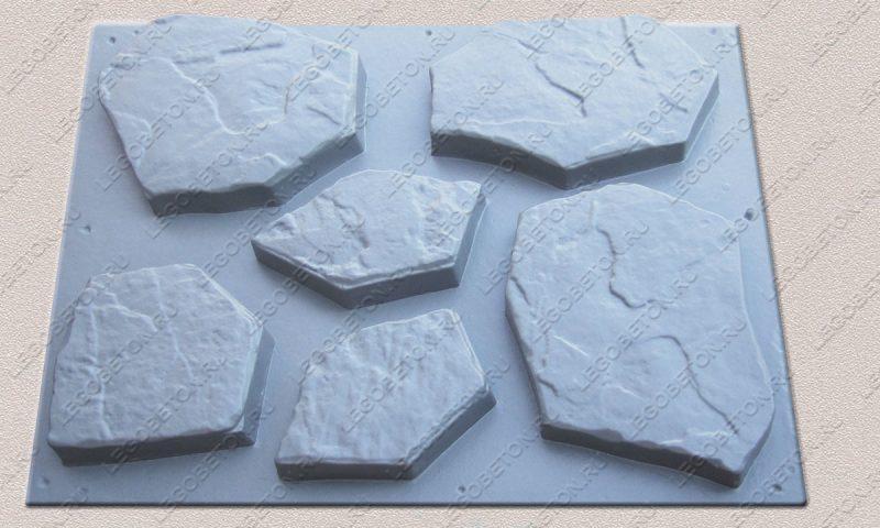 Форма «Комплект камней «Каменная роза»» FR119.1-3