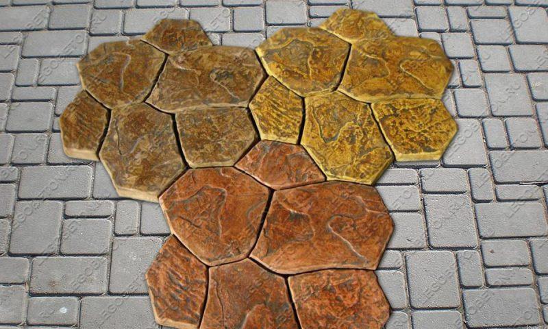 Форма «Комплект камней «Каменная роза»» FR119.1-4