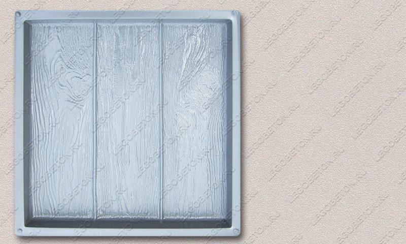 Форма «Квадрат «Три доски» (45х45х4)» FR125.1-1