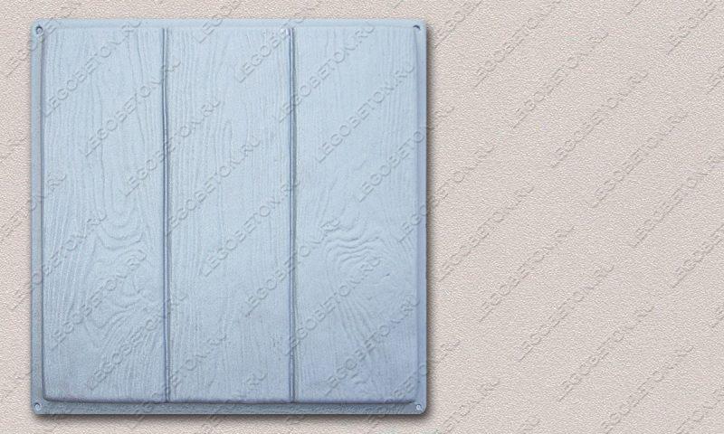 Форма «Квадрат «Три доски» (45х45х4)» FR125.1-4