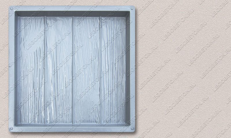 Форма «Квадрат «Четыре доски» (40х40х4)» FR126.1-1