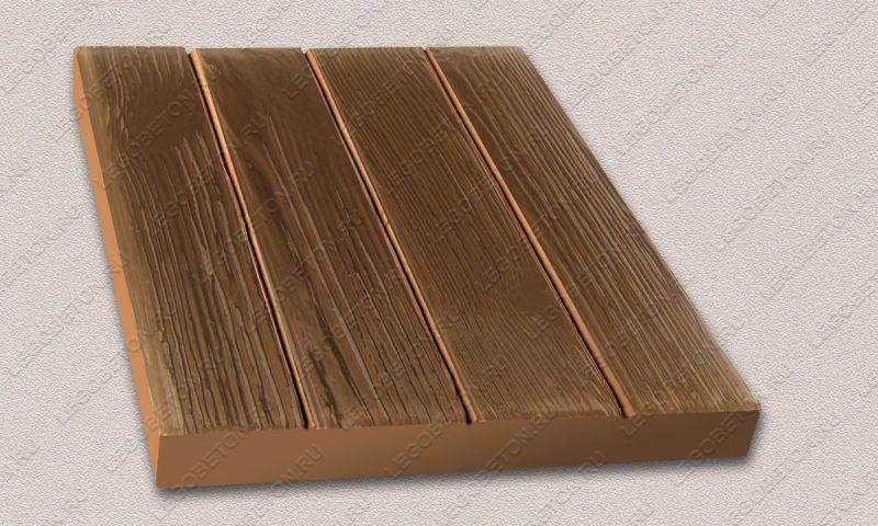 Форма «Квадрат «Четыре доски» (40х40х4)» FR126.1-2