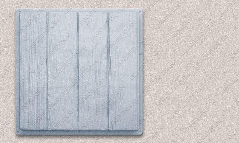 Форма «Квадрат «Четыре доски» (40х40х4)» FR126.1-4