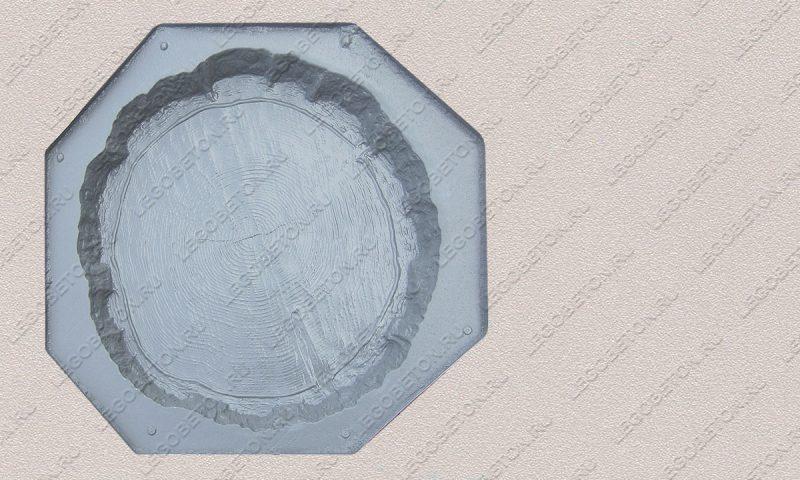 Форма ««Древесный срез большой-42» FR127.1-1