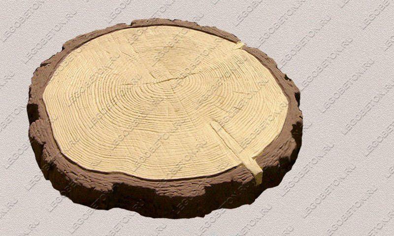 Форма ««Древесный срез большой-42» FR127.1-2